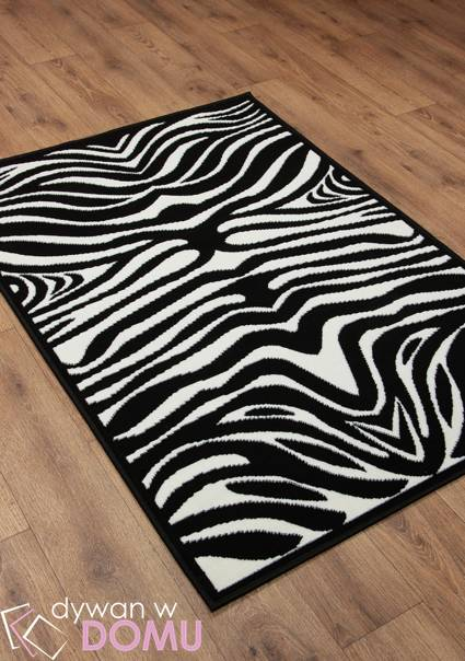 Dywan                                             Black and White Zebra (697)