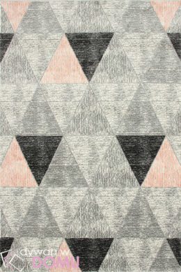 Dywan Brico Triangles pink (16363)